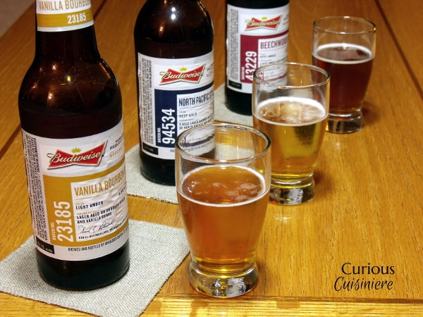 Budweiser Project 12 Beers with Curious Cuisiniere