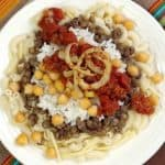 Kushari for a Middle Eastern #SundaySupper