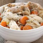 Chicken and Dumplings {Crock Pot}