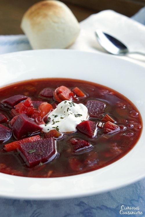 Barszcz Polish Borscht Soup Recipe Curious Cuisiniere