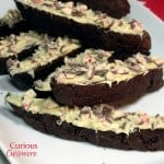 Chocolate Peppermint Biscotti #fbcookieswap