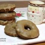 Fruitcake Baked Donuts