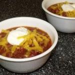 Sweet Pepper & Jalapeno Chili {Crock Pot}
