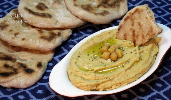 Oregano Hummus from Curious Cuisiniere