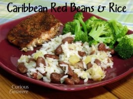 Caribbean Red Beans and Rice from Curious Cuisineire