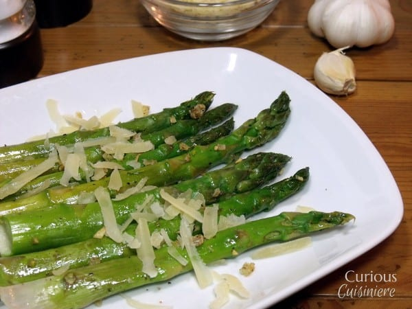 Parmesan and Garlic Asparagus