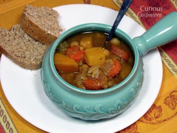 Sweet Butternut Squash and Red Lentil Stew {Crock Pot}