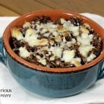 Spicy Fall Wild Rice Bake