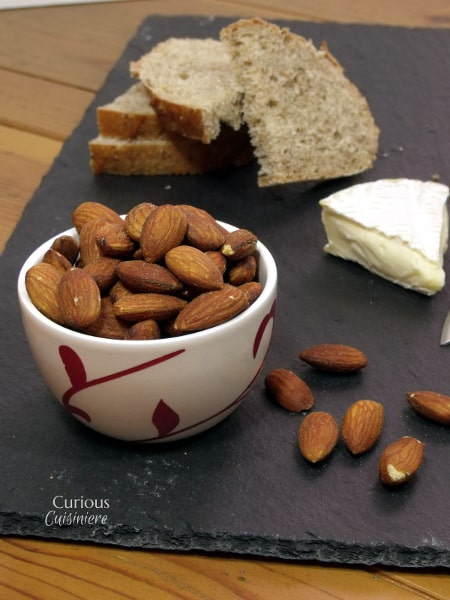 Herb Roasted Almond Tapas from Curious Cuisiniere