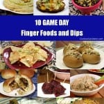 10 Finger Foods and Dips for Game Day