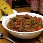 Apple and  Ale Pulled Pork Chili