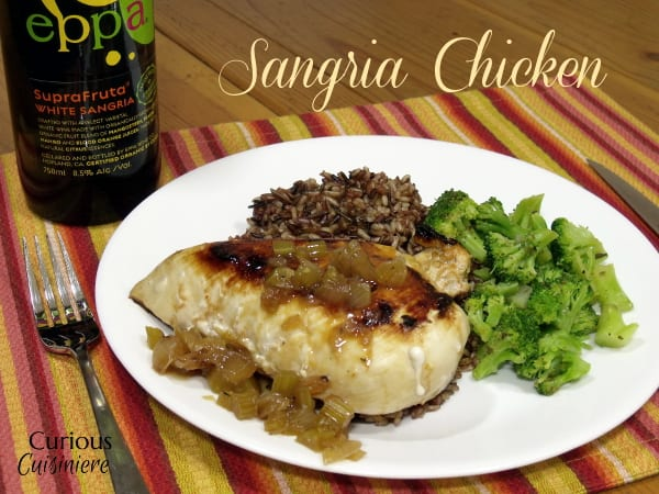 Sangria Chicken from Curious Cuisiniere