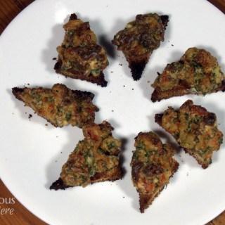 Baked Shrimp Toast from Curious Cuisiniere