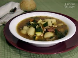 Chunky Minestrone from Curious Cuisiniere