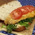 Baked Catfish Po'Boy