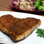 Broiled Jerk Salmon with Homemade Jamaican Jerk Seasoning
