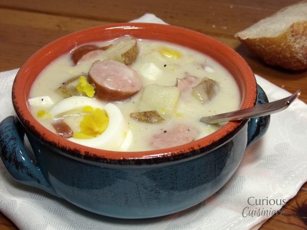 Polish White Borscht (Bialy Barszcz) from Curious Cuisiniere