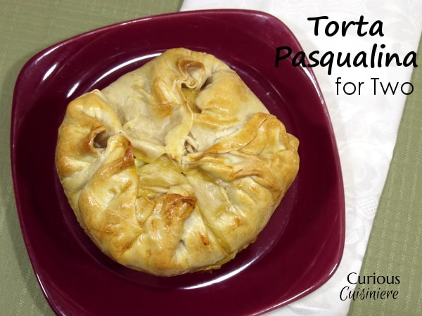 Individual Torta Pasqualina (Italian Easter Pie) from Curious Cuisiniere