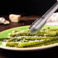 Garlic Parmesan Asparagus Easter side dish
