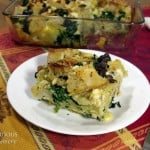 Overnight Greek Breakfast Strata