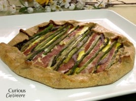 Ham and Asparagus Strata from Curious Cuisiniere