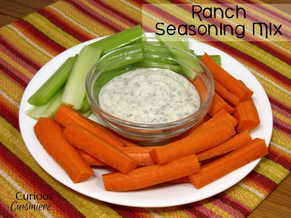Ranch Seasoning Mix from Curious Cuisiniere