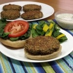 Black Tea Lentil Burger