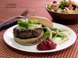 Italian Pizza Burgers from Curious Cuisineire