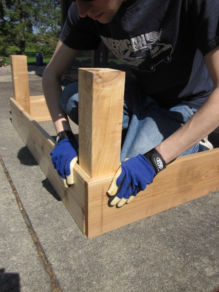 Building Raised Beds with Curious Cuisiniere