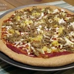 Jamaican Jerk Pork Pizza