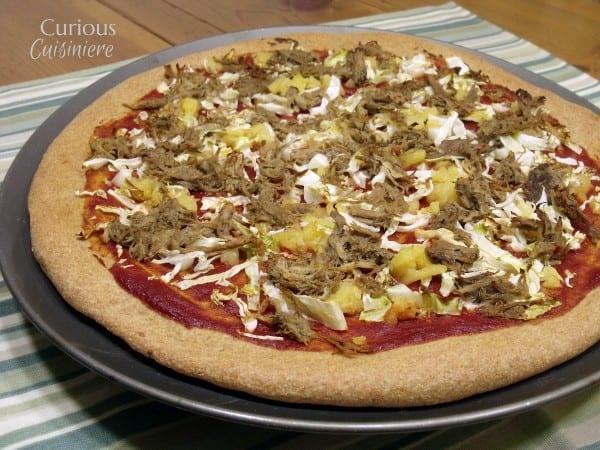 Jamaican Jerk Pork Pizza