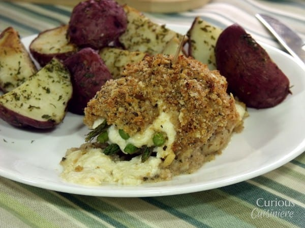 Baked Asparagus Stuffed Fish from Curious Cuisiniere