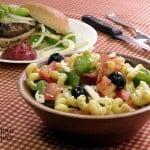 Pizza Pasta Salad #SundaySupper