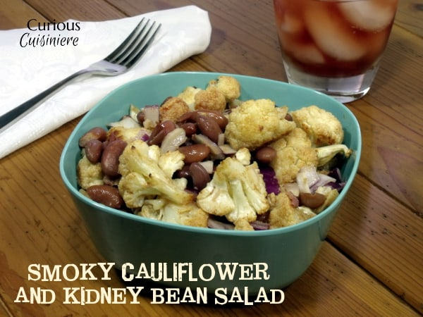 Smoky Cauliflower and Kidney Bean Salad from Curious Cuisiniere