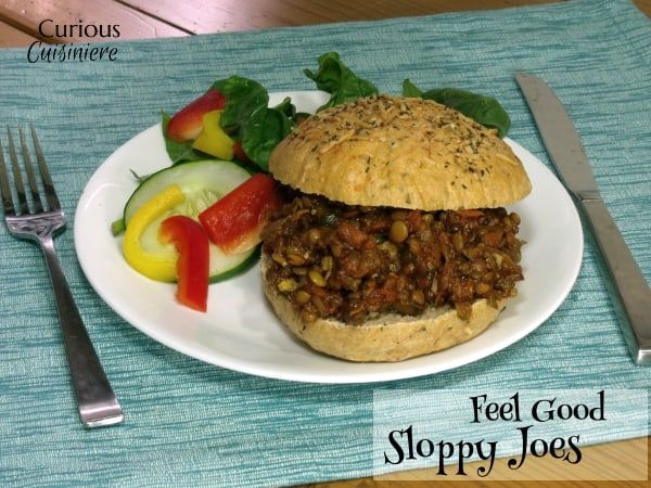 Healthy Sloppy Joes from Curious Cuisiniere