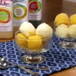 Boozy Tropical Sorbet Duo with Evolution Fresh Juices