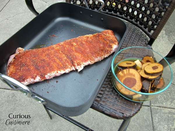 Summer cooking. Break out the charcoal grill for these smoked spare ribs bathed an an easy rib rub.