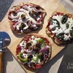 Individual Grilled Veggie Pizzas #SundaySupper #ChooseDreams