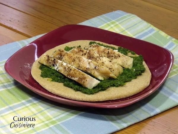 Chicken and Broccoli Pesto Pitas