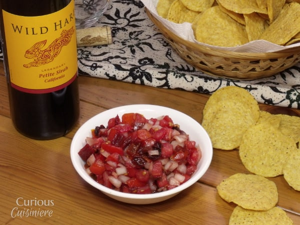Garden Chipotle Salsa from Curious Cuisiniere