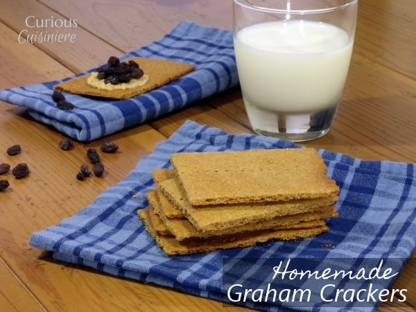 Homemade Graham Crackers from Curious Cuisiniere #backtoschool