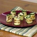 Feta Zucchini Bites #SundaySupper