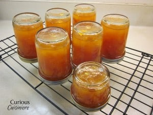No Pectin Apricot Jam from Curious Cuisiniere