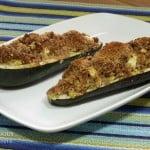 Polish Style Stuffed Zucchini