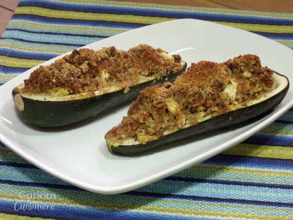 Polish Style Stuffed Zucchini from Curious Cuisiniere