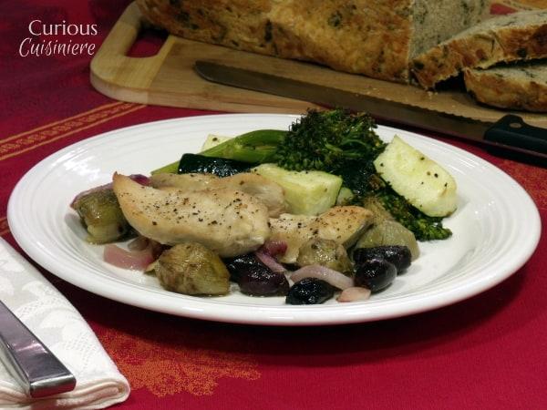 Greek Chicken Bake from Curious Cuisiniere