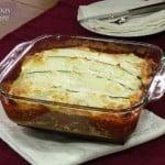 Italian Sausage Zucchini Lasagna #SundaySupper