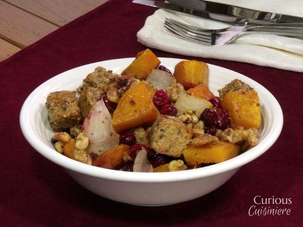 Fall Harvest Panzanella #squash #SundaySupper