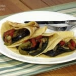 Layered Ratatouille in Savory Crepes