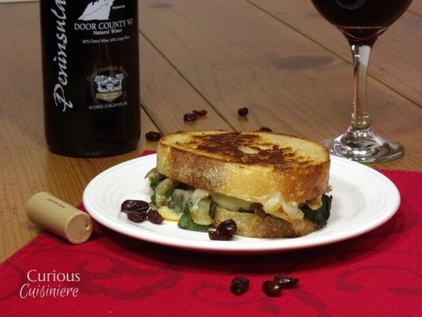 Cheddar Cranberry Grilled Cheese